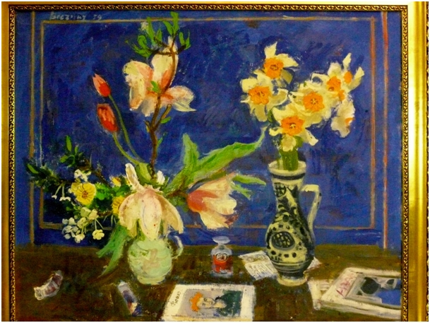 Jozsef Breznay: Still Life With Flowers