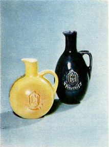 Granit Factory Schnaps flasks 1968.